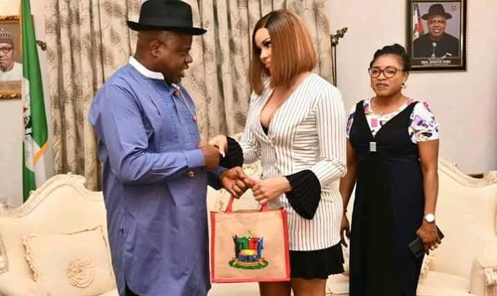 Governor Diri Appoints BBNaija's Nengi As Senior Special Assistant And Face Of Bayelsa 1