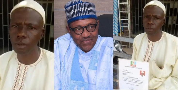 Man Who Trekked 15 Days To Celebrate Buhari In 2015, Cries For Help Over Limb Pain 1