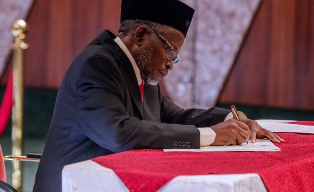CJN Tanko Muhammad, Swears In Eight New Supreme Court Justices 1