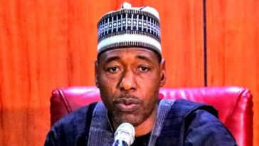 """Boko Haram Started With Youth Protests"" - Governor Zulum Warns #EndSARS Promoters 1"