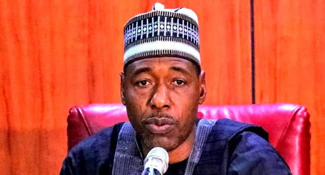 """""""Boko Haram Started With Youth Protests"""" - Governor Zulum Warns #EndSARS Promoters 1"""