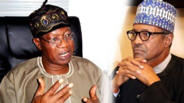 """Please Bear With Buhari In His Quest To Deliver His Promises"" - Lai Mohammed Begs Nigerians 2"