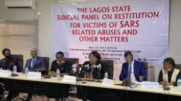 Lagos Panel Suspends Sitting Over Freezing Of #ENDSARS Protesters' Bank Accounts By CBN 12