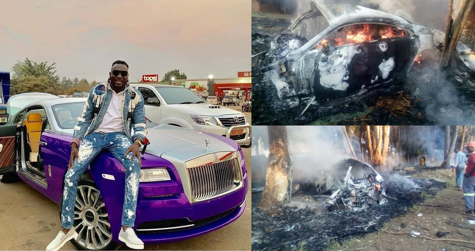 Businessman And Socialite, Ginimbi Kadungure Dies In Car Crash After Party At Nightclub [Video] 1