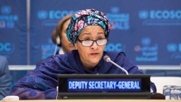 UN Deputy Secretary-General, Amina Mohammed Set To Visit Nigeria 15
