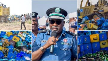 Ganduje Orders Hisbah Police To Destroy 1,975,000 Bottles Of Beer Worth N200 Million In Kano [Photos] 2