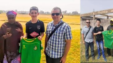 American Born Youngster, Neuer Abraham Joins Kano Pillars From US Football Academy 10