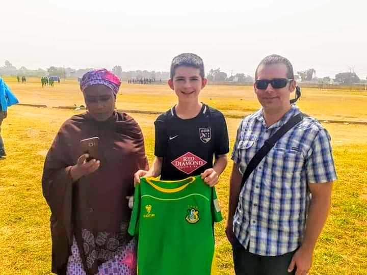 American Born Youngster, Neuer Abraham Joins Kano Pillars From US Football Academy 3