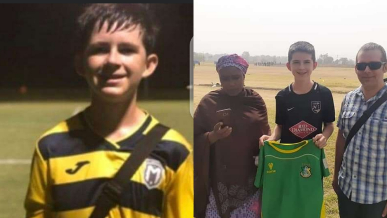 American Born Youngster, Neuer Abraham Joins Kano Pillars From US Football Academy 1