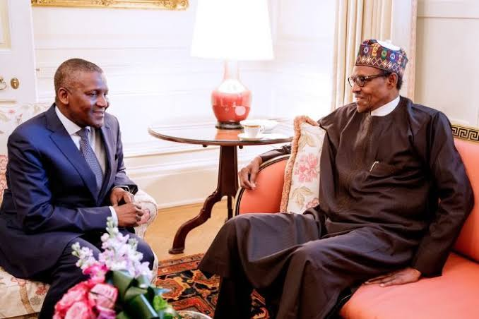 President Buhari Reopens Land Border For Dangote, Keeps It Shut For Other Businesses 1