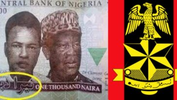 CBN, Nigerian Army Opposes Suit To Remove Arabic Inscriptions From Naira Notes And Logo 11