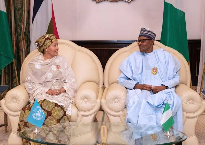 Amina Mohammed Says She Believe A Woman Can Succeed Buhari As Nigeria's President 1
