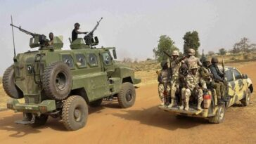 Nigerian Army Kills Female Suicide Bomber, Seven Other Boko Haram Insurgents 9