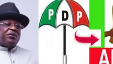 """We Can't Be Stampeded Into Zoning"" - PDP Reacts To Umahi's Threat To Join APC For Igbo Presidency 7"