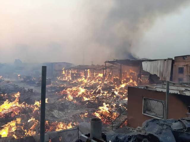 Angry Youths Burn Market Over Mysterious Deaths Of 34 Persons In Delta State 1
