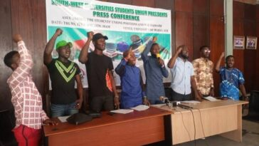 South-West Students Gives Nigerian Government Seven-Days Ultimatum To End ASUU Strike 6