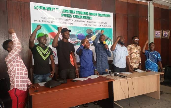 South-West Students Gives Nigerian Government Seven-Days Ultimatum To End ASUU Strike 1