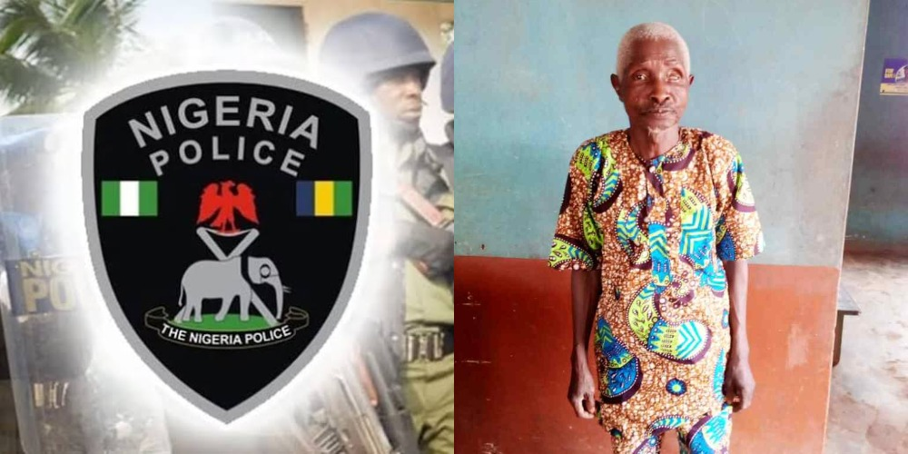 Police Arrests 70-Year-Old Man For Impregnating His 15-Year-Old Granddaughter In Ogun 1