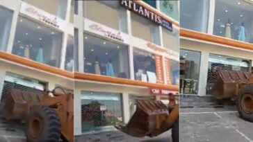 Woman Cries Out As AMAC Officials Demolishes Building With Properties And People Inside [Video] 4