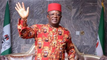 """""""We Wish You All The Best, Nigerians Will Soon Know Why You Joined APC"""" - PDP Tells Umahi 6"""