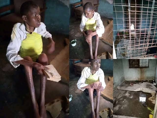 Mother Of Eight Locked Up In Cage For 3 Years After Husband Accused Her Of Witchcraft In Delta 1