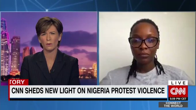 """Nigeria Is A Dictatorship With A Democratic Face"" - DJ Switch Tells Becky Anderson On CNN [Video] 1"