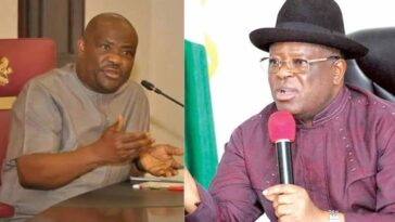"""You Can't Threaten Me, I'm Not A Dictator Who Controls PDP"" – Wike Fires Back At Umahi 4"