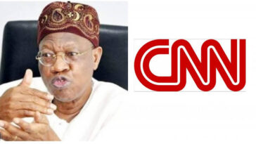 #EndSARS: CNN Should Be Sanctioned Over Its Report On Lekki Shooting - Lai Mohammed 4