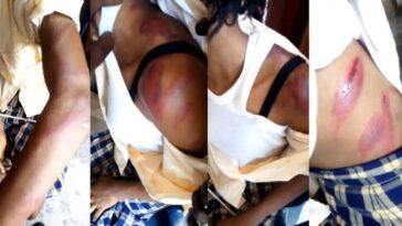 Nigerian Mother Allegedly Brutalizes Teenage Daughter After Seeing Her With A Guy [Video] 2