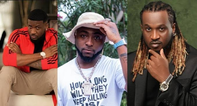 """Y'all Pu*sy As F*ck"" - Davido Slams People Who Attended Psquare's Birthday Party Separately 1"