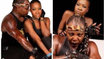 """This Man Kicked Me Out, He Don't Even Pick My Call"" - Charly Boy's Lesbian Daughter Blast Him 13"