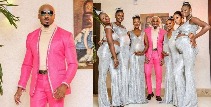 Pretty Mike Attends Williams Uchemba's Wedding With Six Pregnant Baby Mamas [Video] 1