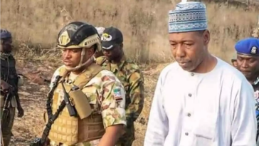 Governor Zulum Reacts As Boko Haram Attacks His Convoy, Kills Seven Soldiers, Two Others 1