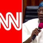 #EndSARS: CNN Report On Lekki Shooting Capable Of Setting Nigeria On Fire — Lai Mohammed 13