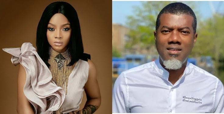 """""""Such An Embarrassment"""" - Toke Makinwa Blasts Reno Omokri Over His Comments On Divorced Women 1"""