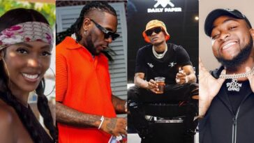 Burna Boy, Davido, Wizkid, Tiwa Savage, 3 Other Nigerian Acts Nominated For MOBO Awards 15