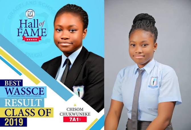 17-Year-Old Brilliant Girl, Chisom Chukwuneke Dies After Obtaining Seven A1s In WASSCE 1