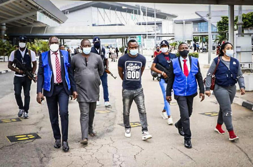 INTERPOL Arrests Three Nigerians 'Who Scammed 50,000 Victims Worldwide' In 3 Years 1