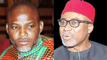 Igbos Will Resist Any Attempt To Arrest Senator Abaribe Over Nnamdi Kanu's Bail - MASSOB 12