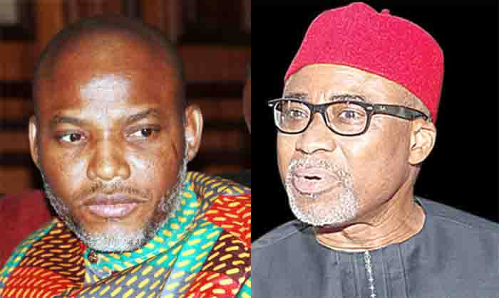 Igbos Will Resist Any Attempt To Arrest Senator Abaribe Over Nnamdi Kanu's Bail - MASSOB 1