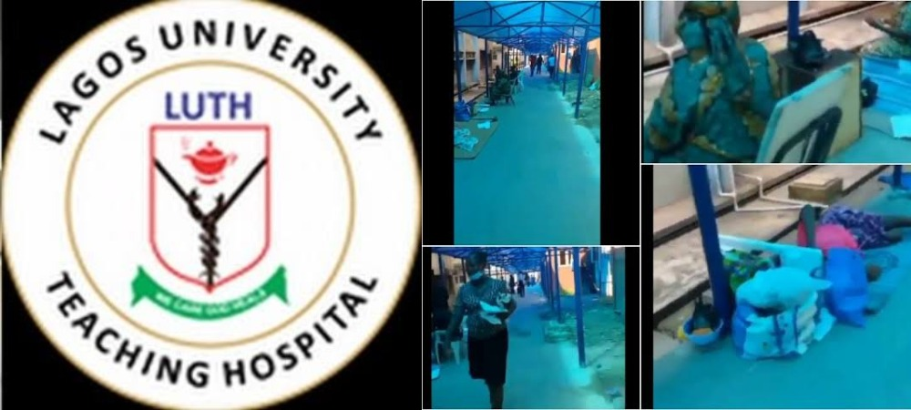 LUTH Hospital Allegedly Forces Nursing Mothers And Their New Born Babies To Sleep Outside On Bare Floor [Video] 1