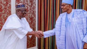 Buhari Inherited Bad Governance, Empty Treasury From PDP In 2015 — Senate President 2