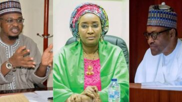 Sadiya Farouq Reportedly Weeps As Pantami 'Disgraces' Her Before Buhari At FEC Meeting 2