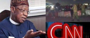 #EndSARS: Lai Mohammed Says Report On Lekki Shooting Has Put CNN In Trouble 24