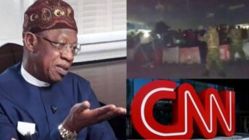 #EndSARS: Lai Mohammed Says Report On Lekki Shooting Has Put CNN In Trouble 6