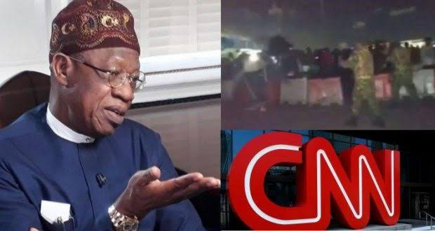 #EndSARS: Lai Mohammed Says Report On Lekki Shooting Has Put CNN In Trouble 1