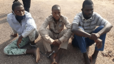 #EndSARS: Two Suspect Arrested For Selling Heads Of Murdered Policemen For N1000 In Oyo 11