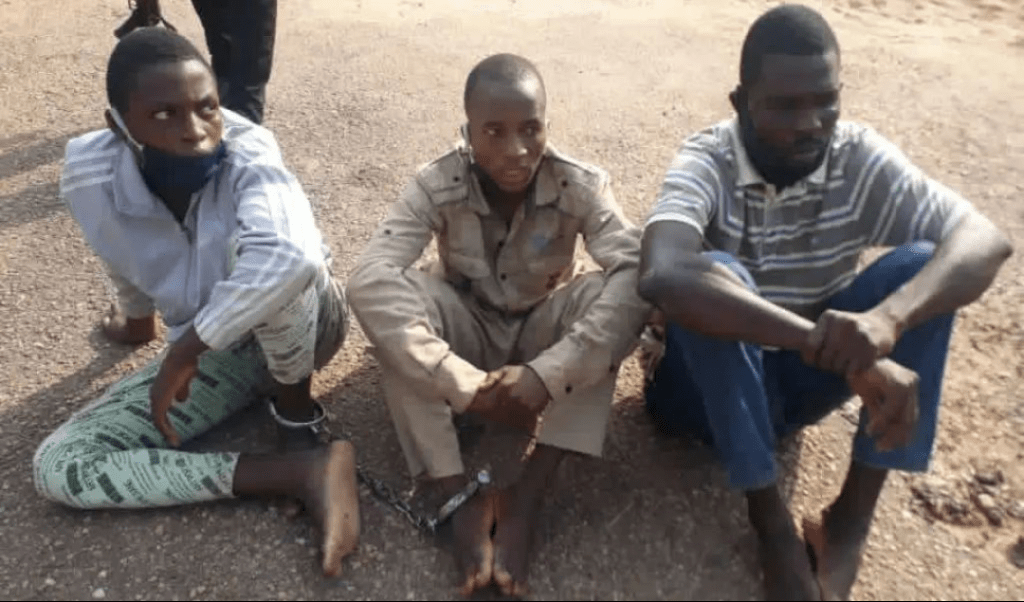 #EndSARS: Two Suspect Arrested For Selling Heads Of Murdered Policemen For N1000 In Oyo 1