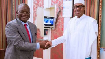 """Farmers Are Smiling To Their Banks"" - Ortom Begs Buhari Not To Reverse Ban On Rice Importation 11"