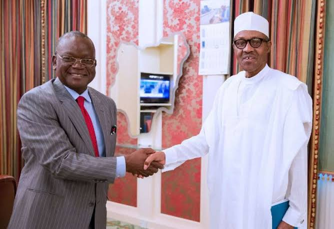 """""""Farmers Are Smiling To Their Banks"""" - Ortom Begs Buhari Not To Reverse Ban On Rice Importation 1"""